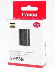 Original Canon lp-e6 n batería Pack Li-ion 1850 mah mercancía nueva