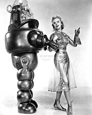 """ANNE FRANCIS """"ROBBY THE ROBOT"""" """"FORBIDDEN PLANET""""  8X10 PUBLICITY PHOTO (BB-799)"""