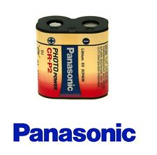Panasonic CRP2 Lithium Photo Battery 1400mAh CRP2 6V  CR-P2