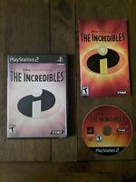 Incredibles, CIB & TESTED (Sony PlayStation 2, 2004)