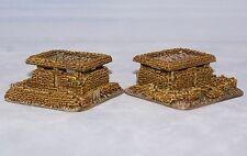 1/100 15mm Ww2 puesto de mando Bolsa de arena objetivos. se mantuvieron en marcadores X2. de paso