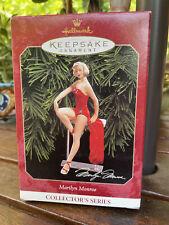 Hallmark Keepsake Marilyn Monroe 1999 Collector's Series Box Only