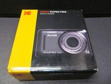 NIB Kodak Pixpro FZ53 16MP Digital Camera 5x Zoom Blue color