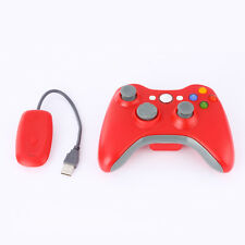 2.4G Wireless Game Controller Gamepad Joystick+Receiver For Microsoft Xbox 360GN