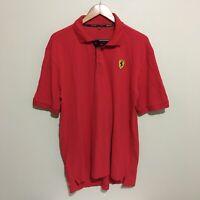 Ferrari F1 Formula One Racing Official Polo Shirt Mens 2XL XXL