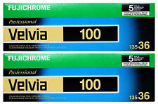 (10 Rolls) Fujichrome Velvia 100 35mm Film RVP 135-36 Fuji Color Slide 01/2019