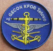 3 GECON KFOR Teteovo Patch Abzeichen Badges