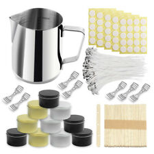 Complete Diy Candle Making Supplies Wax Melt Pot Wicks Holders Candle Tin Jars
