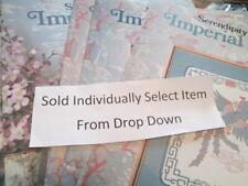 Serendipity/Carolyn Meacham Cross Stitch Leaflet/Chart-Your Choice