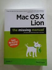 001 Mac OS X Lion by David Pogue (2011, Paperback)