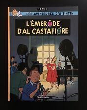 HERGE * TINTIN * L'ÈMERÔDE D'AL CASTAFIORE * EN WALLON DE LIEGE * TL N°+DEDICACE