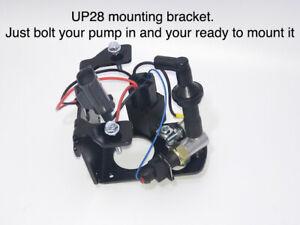 Rotary Vacuum pump bracket kit w/ switch, relay, bracket, check valve, NO PUMP