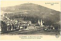 CPA 07 Ardèche La Louvesc Le Mont-Chaix et la ville