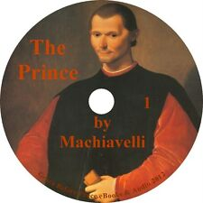 The Prince, a Political Treatise Audiobook by Niccolo Machiavelli on 1 MP3 CD