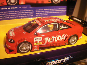 SCALEXTRIC SPORT OPEL V8 COUPE TV TODAY LTD RARE C2475A