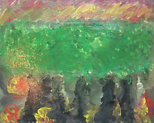 Contemporary Acrylic Painting on Canvas - Unsigned - Unframed - Canada - C. 2000