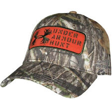 Under Armour Camo Antler Patch Snap Back Cap (Mossy Oak Obsession) 1246831-940