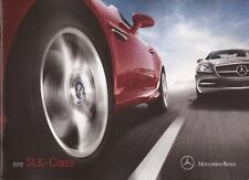 2012 12  Mercedes Benz  SLK  Class  Original  brochure