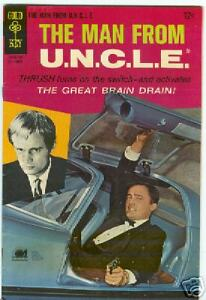 Man From Uncle #14 September 1967 Photo cover