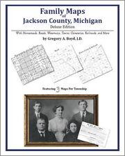 Family Maps Jackson County Michigan Genealogy MI Plat