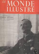 LE MONDE ILLUSTRE 1947 N 4441 LE GENERAL LECLERC