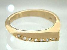 Edler Ring Gold - massiver Goldring 585 mit Brillant - Brillantring - Damenring