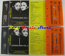 MC MINA Catene 1984 1 STAMPA ITALY PDU PMA 743 744 no cd lp dvd vhs(*)