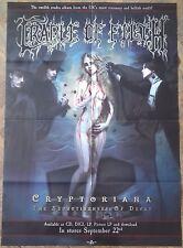 CRADLE OF FILTH Cryptoriana ! POSTER ! Dimmu Borgir/Hecate Enthroned/Devilment !
