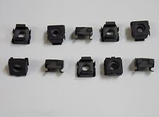 10 pcs 1/4-20 Cage Nuts Clip in Style Caged Nut Ford