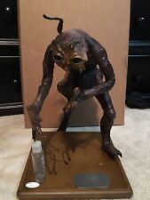 1986 Hot Toys Sideshow The Fly Statue Signed By Jeff Goldblum COA JSA