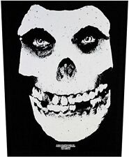 MISFITS - CLASSIC SKULL LOGO - BACK PATCH - BRAND NEW - MUSIC BAND 0634