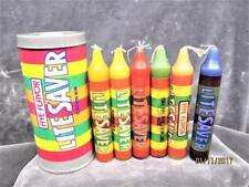 VINTAGE CAN OF  (LIFE) LITE SAVERS 6 CANDLES  MADE IN HONG KONG