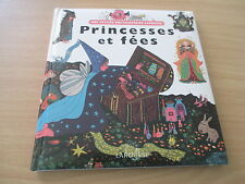 mes petites encyclopedies larousse princesses et fees - elene usdin