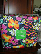 Vera Bradley Reversible Two Piece Comforter Set Twin / Twin XL Jazzy Blooms NEW