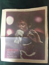 "Michael Jackson ""KING of POP"" Newspaper Collector Series Sept 11, 1984 VERY RARE"