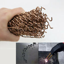 25x Wiggle Welding Wire Car Plastic Panel Bumper Repair for Hot Stapler Welder