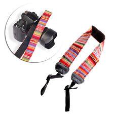 Vintage Camera Shoulder Neck Strap Belt Fit For Nikon Canon Sony Panasonic DSLR