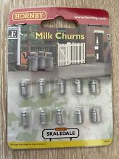 * Hornby R8678 1 x Pack of 10 Milk Churns Scale 00 / HO
