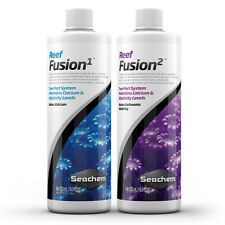 Seachem Reef Fusion 1 and 2 500ml Combo