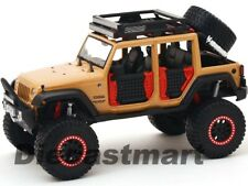 2015 JEEP WRANGLER UNLIMITED OFF ROAD KINGS 1:24 DIECAST BY MAISTO 32523 BROWN