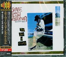 STEVIE RAY VAUGHAN & DOUBLE...-THE SKY IS CRYING-JAPAN CD BONUS TRACK Ltd/Ed B63