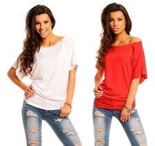 Lockre Sitzende Damenblusen,-Tops & -Shirts im Tuniken-Stil mit Baumwolle für Party
