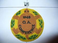 OA Mikano Lodge 231,R-2,1948 Conference LYL Felt,pp,8,636 Kanwa Tho,Milwaukee,WI
