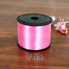 100 Yard Balloon Party Curling Silk Gifts Wrapping Ribbon Rolls Pink