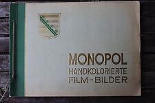 23511b Zigaretten Bilder Album Monopol handkolorierte Film-Bilder B Schauspieler