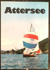 1977 Attersee Austria Postcard Balloon Flight Cover Fdc To Batawa Canada