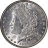 1891-P Morgan Silver Dollar NGC MS63 Nice Eye Appeal Nice Strike