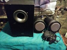 Altec Lansing 3-Piece 2.1 Desktop Speaker System BX1221