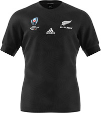 NEW Official 2019 All Blacks Rugby World Cup Mens Jersey