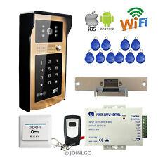 Keypad Wireless Wifi Video Intercom Door Phone Waterproof Doorbell Electric lock